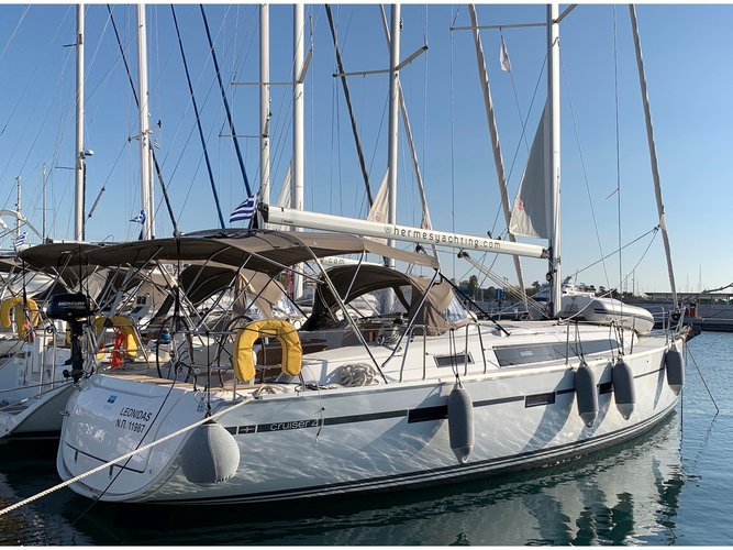 Get on the water and enjoy Athens in style on our Bavaria Yachtbau Bavaria Cruiser 41