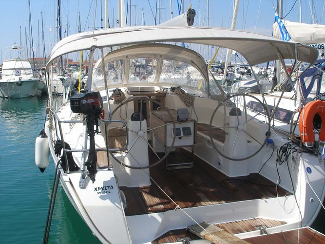 All you need to do is relax and have fun aboard the Bavaria Yachtbau Bavaria Cruiser 40