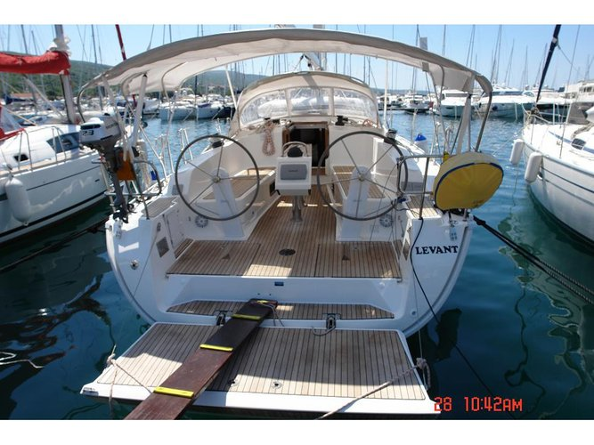 Sail Punat, Krk, HR waters on a beautiful Bavaria Yachtbau Bavaria Cruiser 41