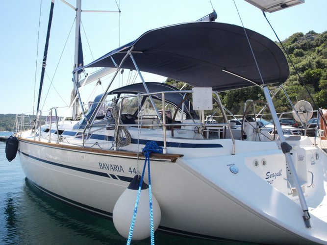 Get on the water and enjoy Primošten in style on our Bavaria Yachtbau Bavaria 44