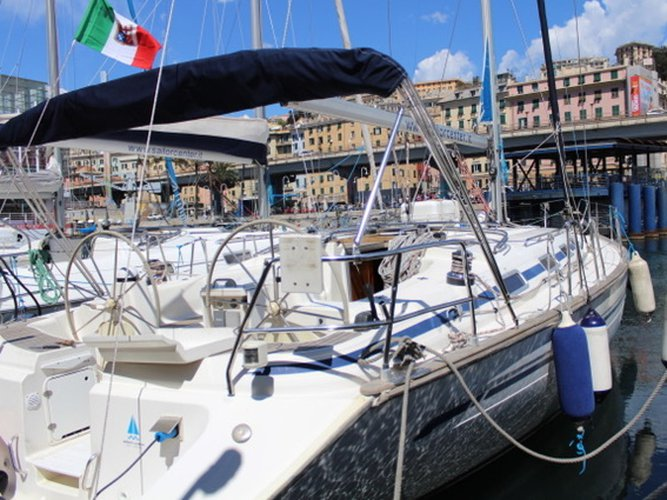 Sail Genoa, IT waters on a beautiful Bavaria Yachtbau Bavaria 44