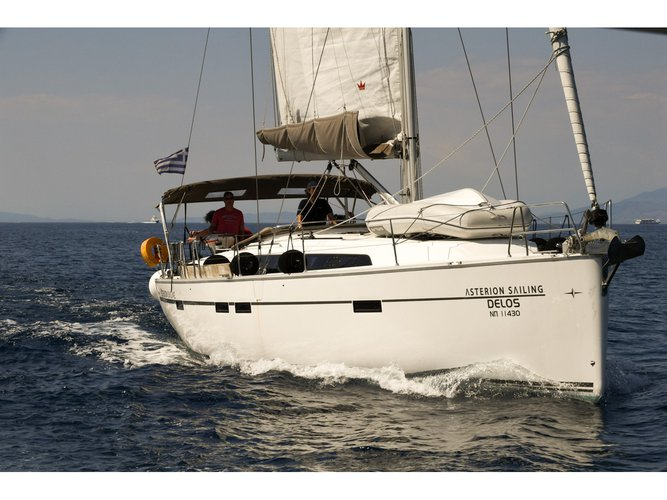 Experience Athens, GR on board this amazing Bavaria Yachtbau Bavaria Cruiser 46