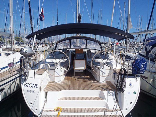 Rent this Bavaria Yachtbau Bavaria Cruiser 45 for a true nautical adventure