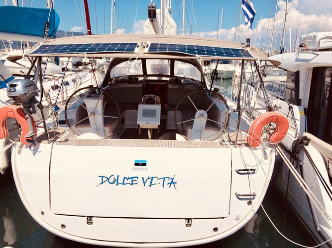 Experience Corfu, GR on board this amazing Bavaria Yachtbau Bavaria Cruiser 46
