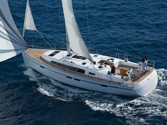 Enjoy luxury and comfort on this Bavaria Yachtbau Bavaria Cruiser 46 in Rhodes