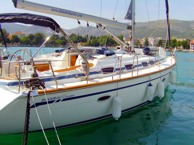 Discover Trogir in style boating on this sailboat rental
