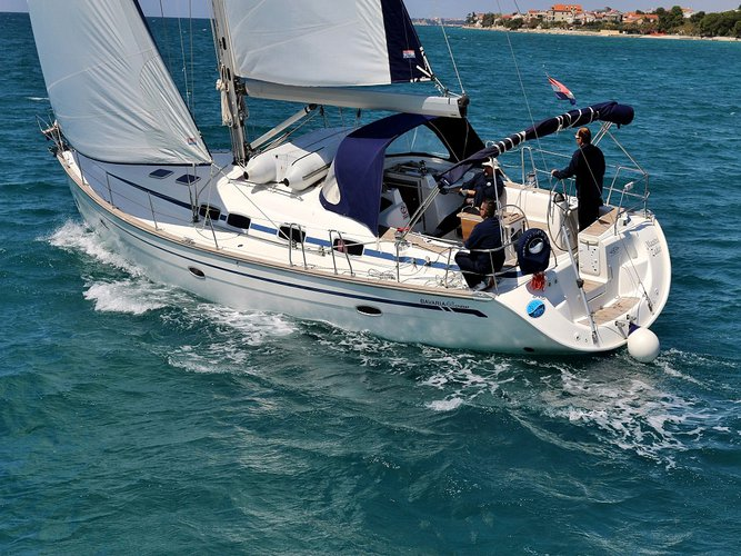 Climb aboard this Bavaria Yachtbau BAVARIA C 46 BT (05) for an unforgettable experience