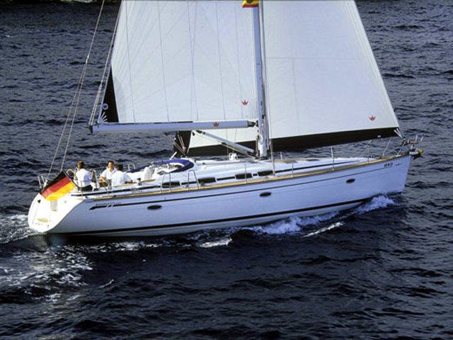 Get on the water and enjoy Skiathos in style on our Bavaria Yachtbau Bavaria 46 Cruiser