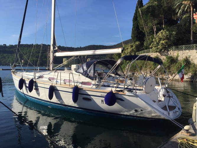 Experience San Vincenzo, IT on board this amazing Bavaria Yachtbau Bavaria 50 Cruiser