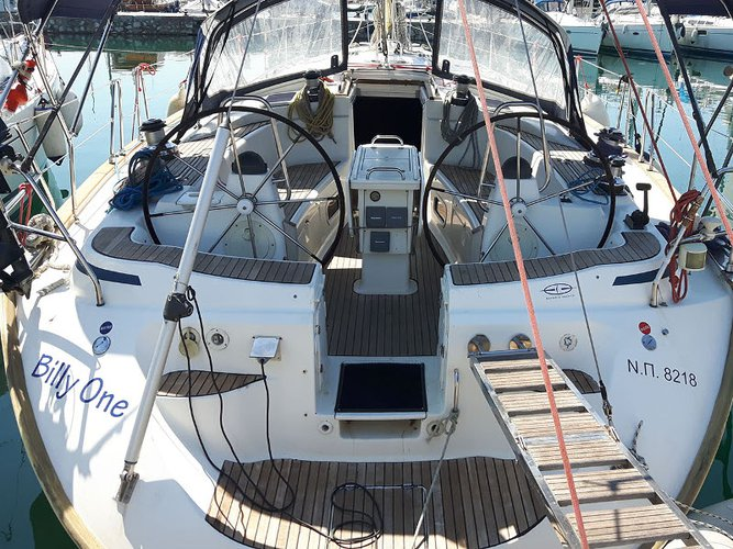 Experience Paros on board this elegant sailboat