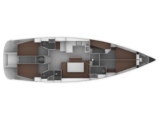 Jump aboard this beautiful Bavaria Yachtbau Bavaria 50 C