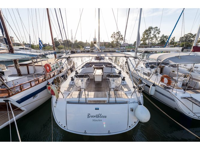 Rent this Bavaria Yachtbau Bavaria Cruiser 56 for a true nautical adventure