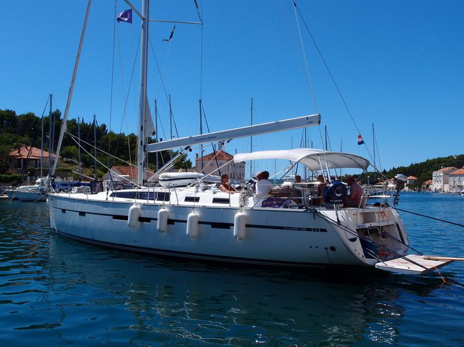 Enjoy Kaštel Gomilica, HR to the fullest on our comfortable Bavaria Yachtbau Bavaria Cruiser 56