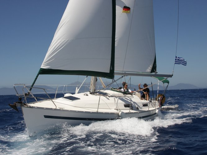 Sail Lefkada, GR waters on a beautiful Bavaria Yachtbau Bavaria 32