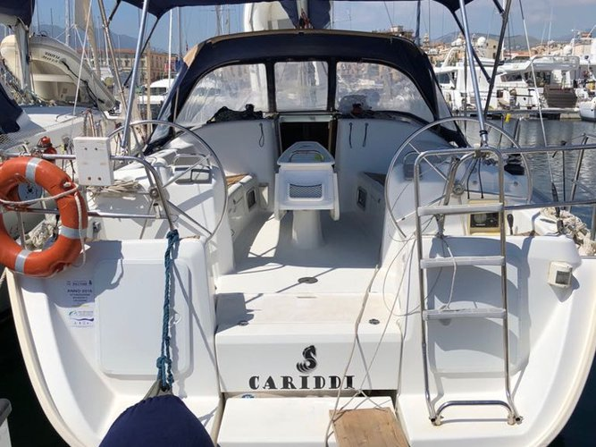 Rent this Beneteau Cyclades 39.3 for a true nautical adventure