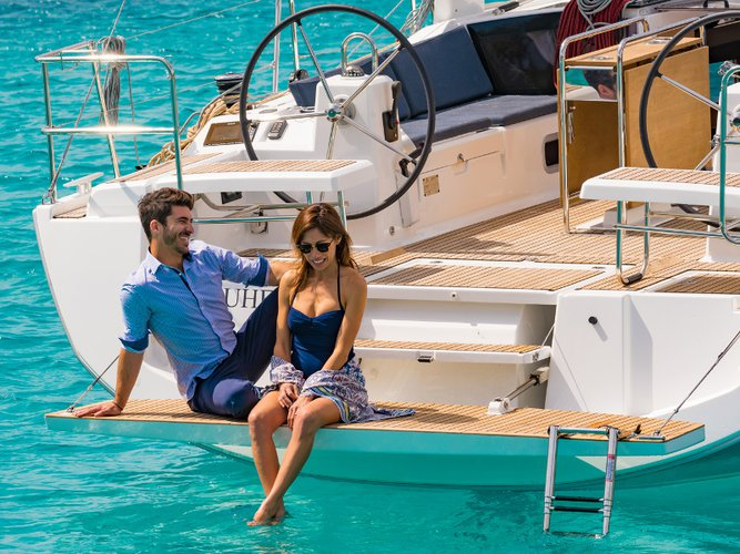 Experience Furnari on board this elegant sailboat