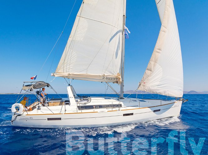 Experience Kos on board this elegant sailboat