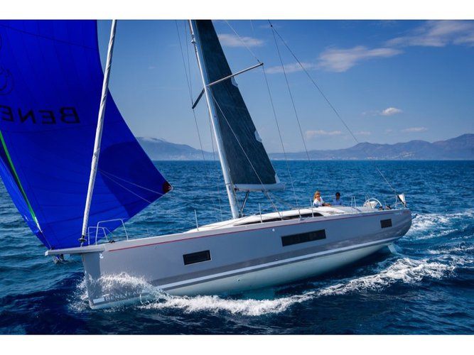 All you need to do is relax and have fun aboard the Beneteau Oceanis 46.1 - 4 cab