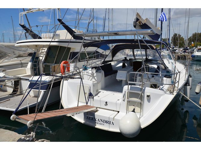 Enjoy luxury and comfort on this Beneteau Cyclades 50.5 in Athens