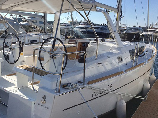 Sail Rogoznica, HR waters on a beautiful Beneteau Oceanis 35