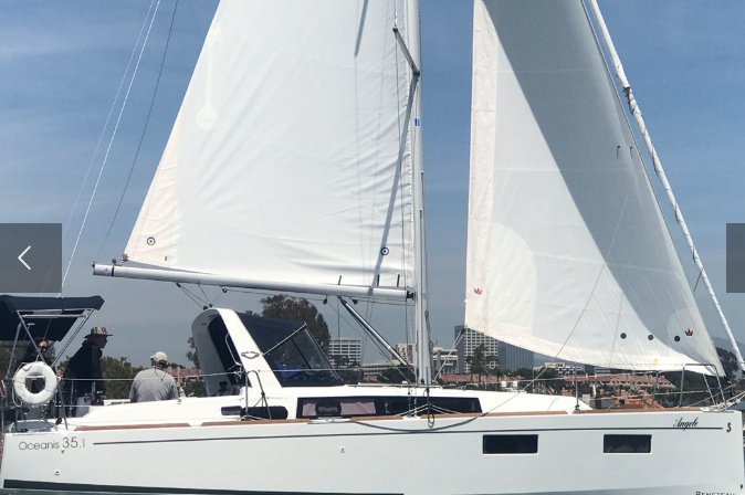 Our Beneteau 35.1 is perfect for couples and small families