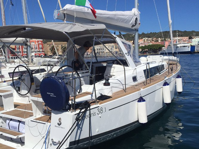 Experience Cagliari on board this elegant sailboat