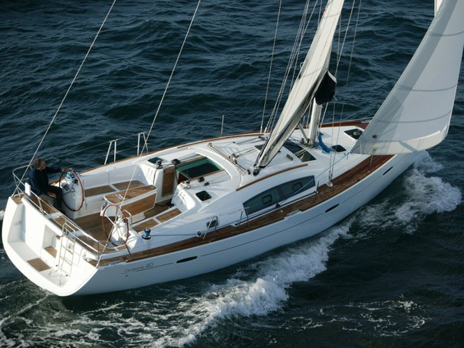 Enjoy luxury and comfort on this Punta Ala sailboat charter