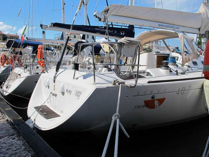 Take this Beneteau First 40.7 for a spin!
