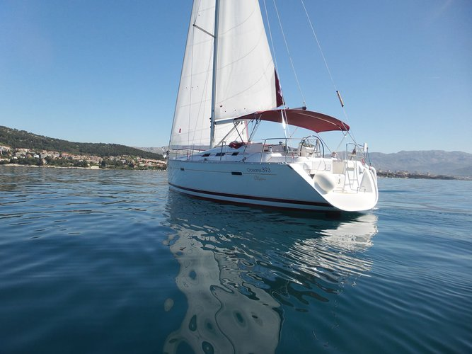 Climb aboard this Beneteau Oceanis 393 Clipper for an unforgettable experience