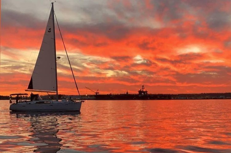 Sunset Sail on San Diego Bay