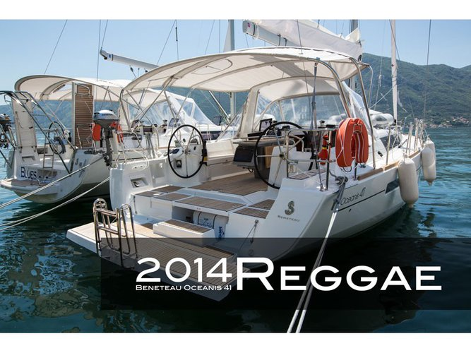 Sail Tivat, ME waters on a beautiful Beneteau Oceanis 41