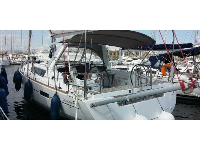 Enjoy luxury and comfort on this Corfu sailboat charter