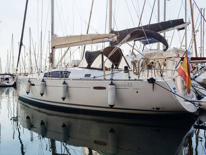 Experience Barcelona on board this elegant sailboat
