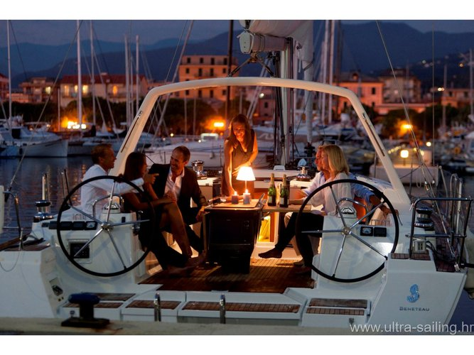 Sail Trogir, HR waters on a beautiful Beneteau Oceanis 45