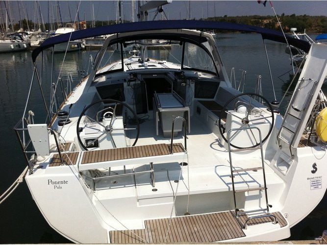 Climb aboard this Beneteau Oceanis 45 for an unforgettable experience