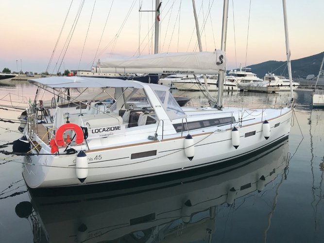 Experience La Spezia on board this elegant sailboat