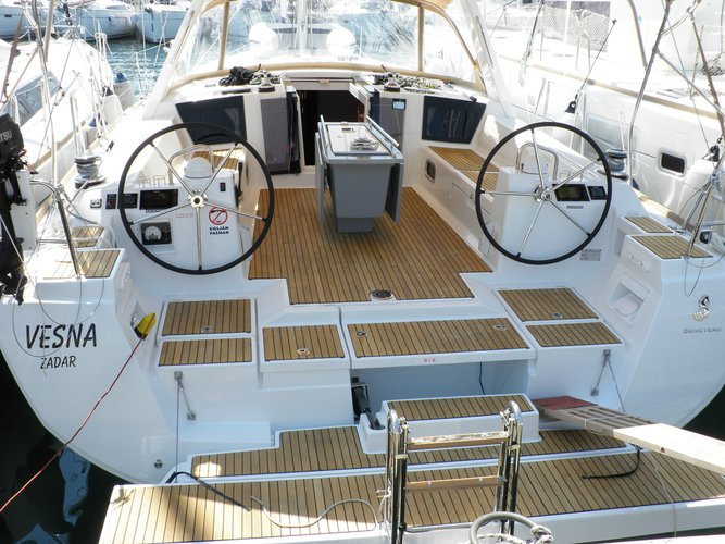 Discover Sukošan in style boating on this sailboat rental