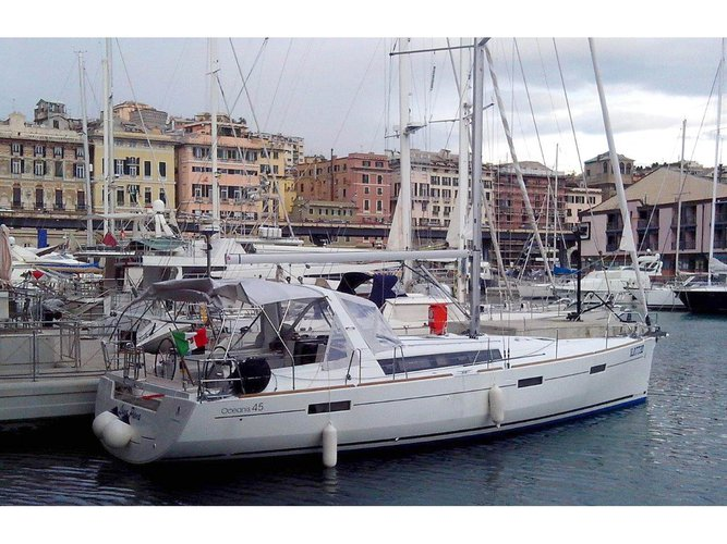 Get on the water and enjoy Puntone - Follonica in style on our Beneteau Oceanis 45
