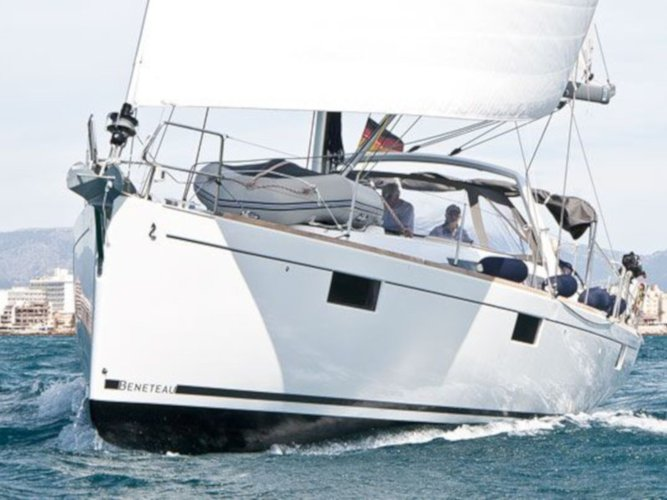Sail Punat, Krk, HR waters on a beautiful Beneteau Oceanis 48