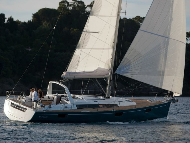 Experience Athens, GR on board this amazing Beneteau Oceanis 48