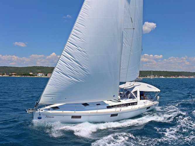 Rent this Beneteau OCEANIS 48 BT for a true nautical adventure