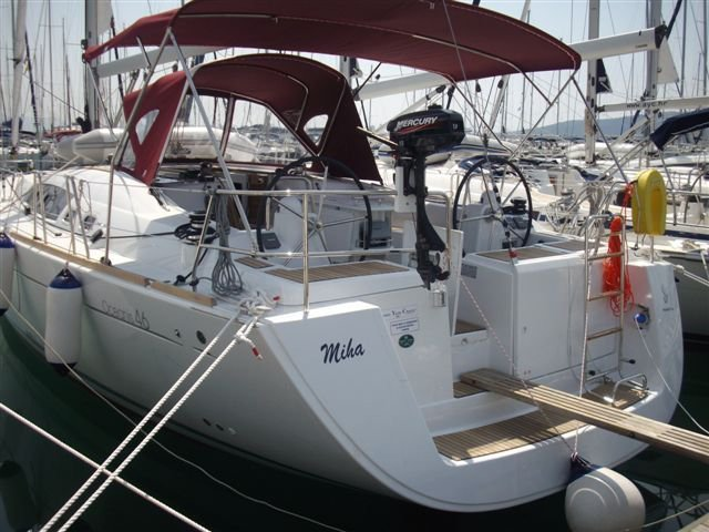 Enjoy luxury and comfort on this Beneteau Oceanis 46 in Biograd