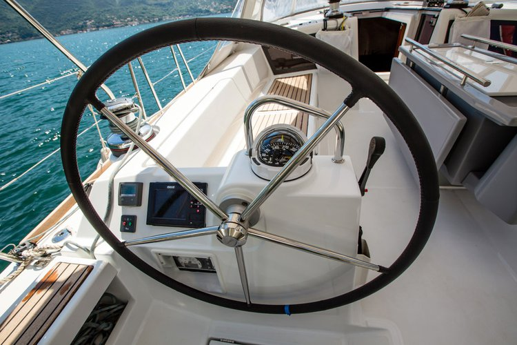 Discover Tivat surroundings on this Oceanis 48 Beneteau boat