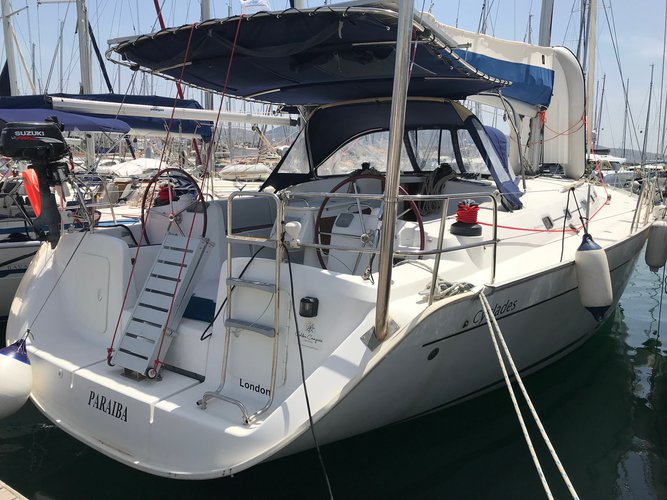 Take this Beneteau BENETEAU Cyclades 50.5 for a spin!