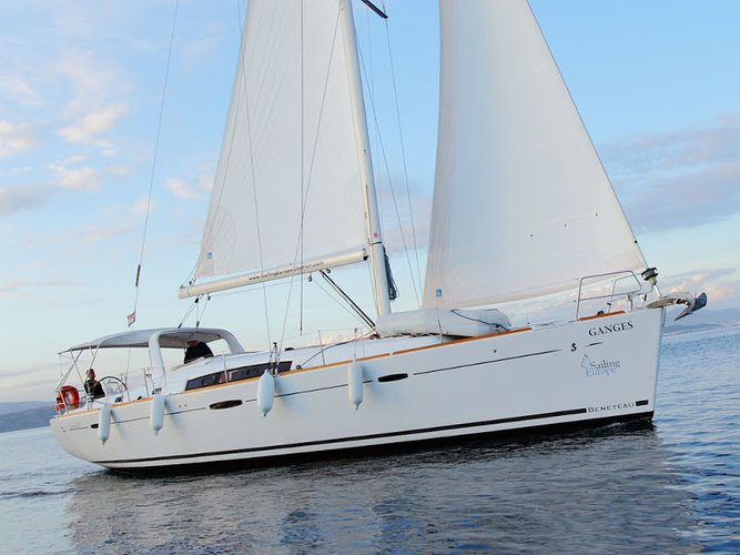 Experience Šolta, HR on board this amazing Beneteau Oceanis 50 Family