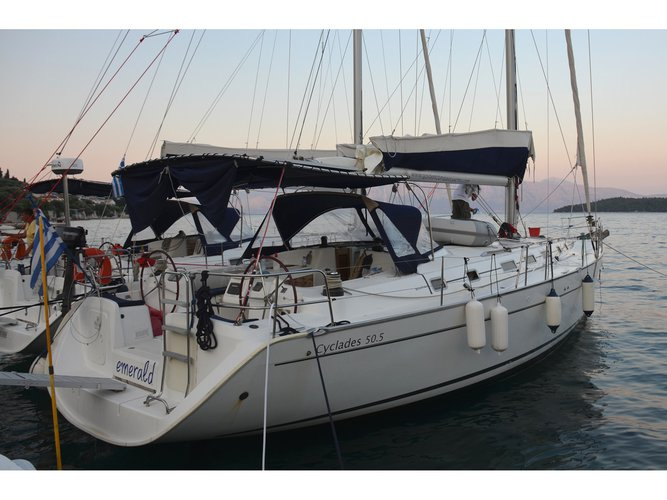 Charter this amazing sailboat in Corfu