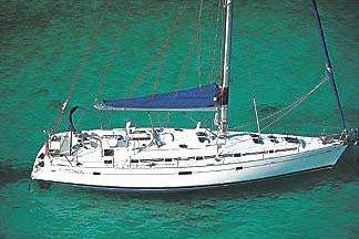 Sail the beautiful waters of Radazul on this cozy Beneteau Beneteau 50-5