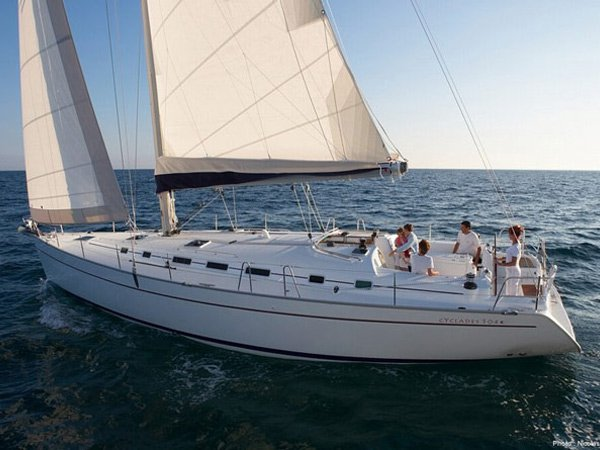 Rent this Beneteau Beneteau Cyclades 50.5   for a true nautical adventure