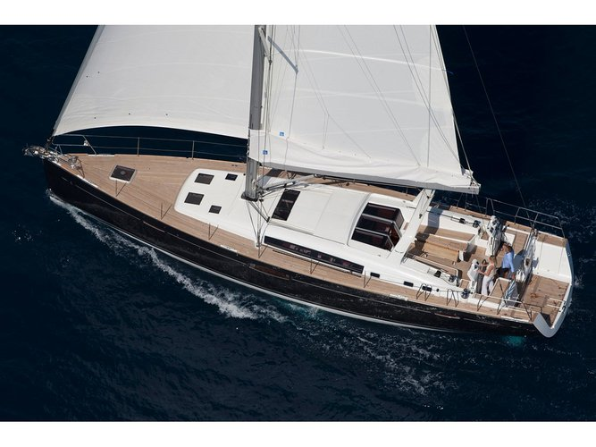 Charter this amazing Beneteau Oceanis 58 in Seget Donji, HR