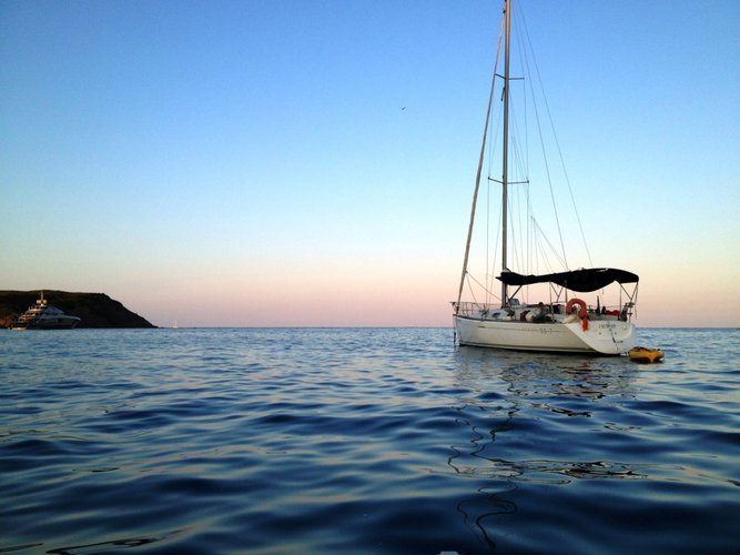 Sail Palamos, ES waters on a beautiful Beneteau First 33.7